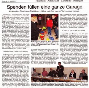Bericht aus Florstadtk