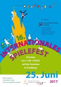 Plakat Spielefest klein